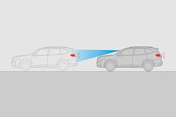 Pre-Collision Braking System<sup>1</sup>