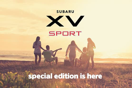 Make the most of every moment with the exclusive Subaru XV 2.0i-S AWD Sport.