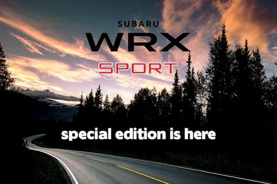 Raise the bar on the iconic Subaru WRX with the limited edition WRX 2.0 Premium AWD Sport!