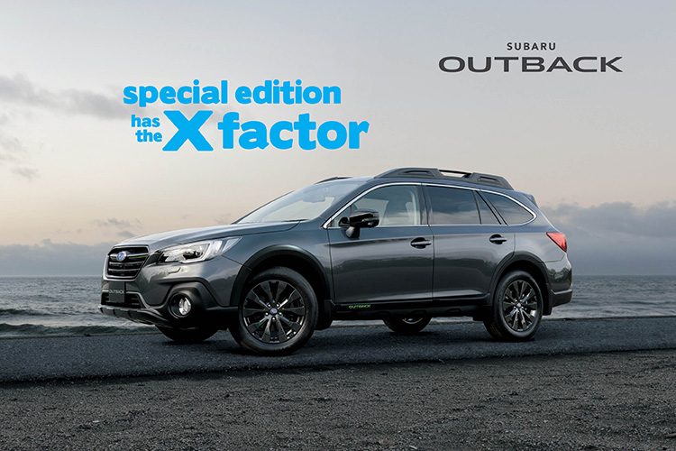 Get up, get out and make every moment memorable in the Special Edition Subaru Outback 2.5i-X.