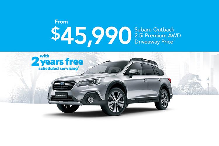Off the Leash Outback 2.5i Premium AWD + Servicing