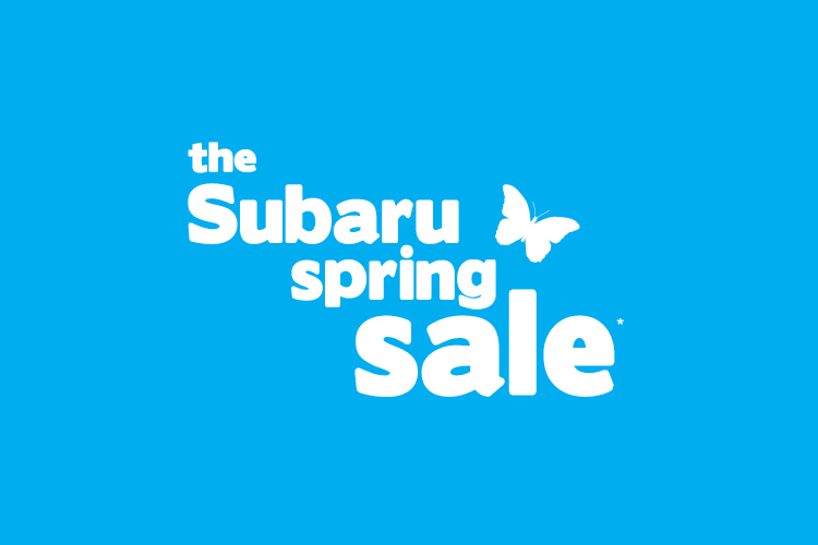 The Subaru Spring Sale is on now! Hurry in by September 30. Terms and conditions apply.