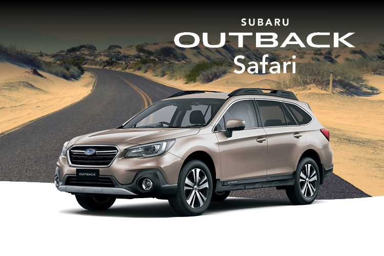 Save big on Outback 2.5i AWD with the Outback Safari special edition packed full of bonus accessories and value. Terms and conditions apply.