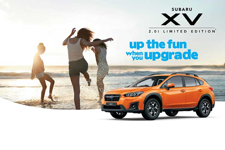 For all the fun you can handle, The Subaru XV has the moves – and a value-busting, new Limited Edition packed with intuitive safety tech.