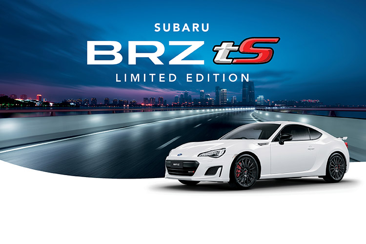 The Subaru BRZ tS takes some of the best of STI motorsports technology and raises the bar – both inside and out. Check out the extra value now available with the BRZ tS Limited Edition in Ceramic White.T&C's apply.