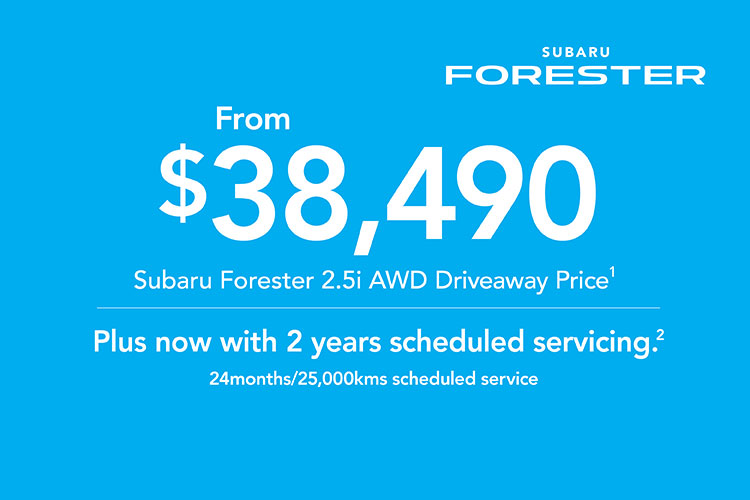 Check out the Forester 2.5i AWD as part of our 2019 Plate Clearance Event today. T&C's apply.
