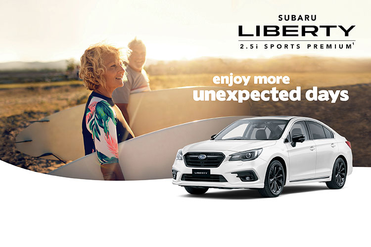 Enjoy more unexpected days with the Liberty 2.5i Premium AWD Limited Edition¹. Check out the added value now available with this Special Edition. T&C's apply.