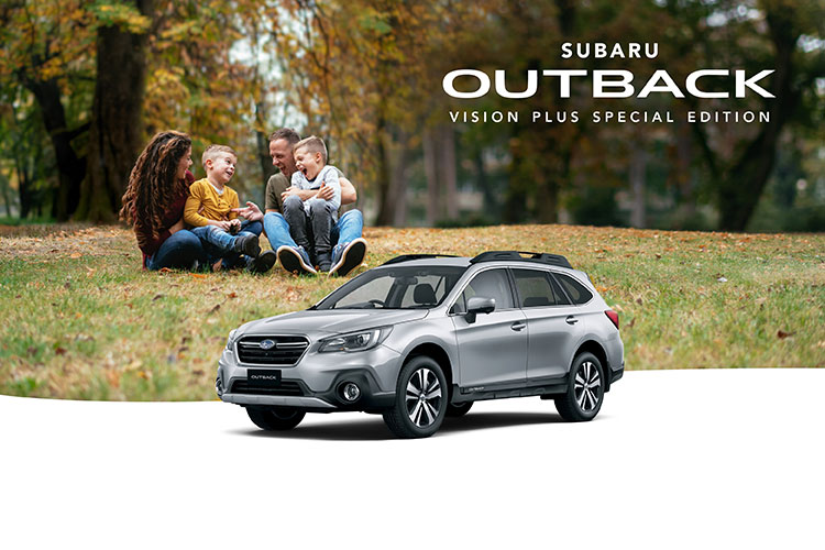 See more with the latest Subaru Outback 2.5i AWD Vision Plus Special Edition. Discover it today. T&Cs apply.