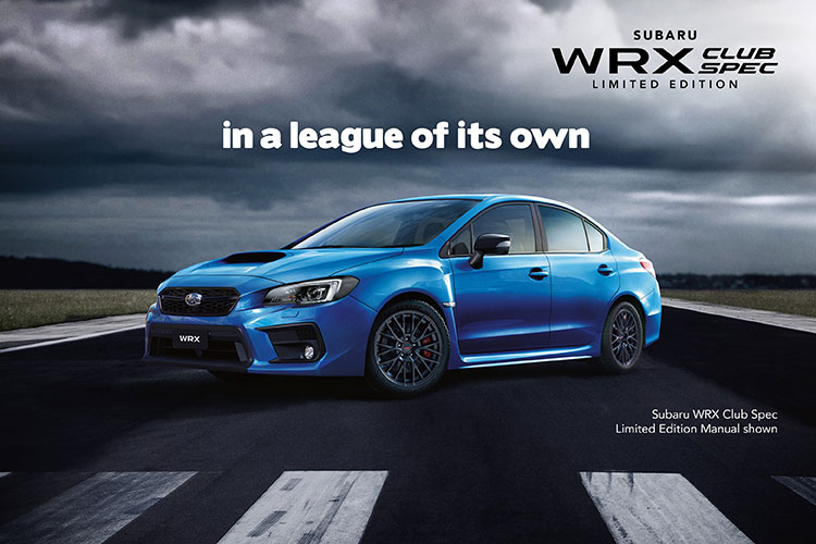 With dynamic styling and bucketloads of substance, this may be the most sought-after WRX yet. Discover it today. T&Cs apply.