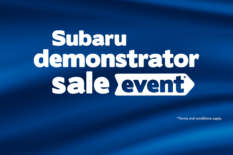 November Demonstrator Sales Event