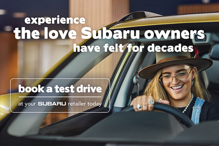 Experience the love Subaru owners have felt for decades. Test drive a Subaru, today.